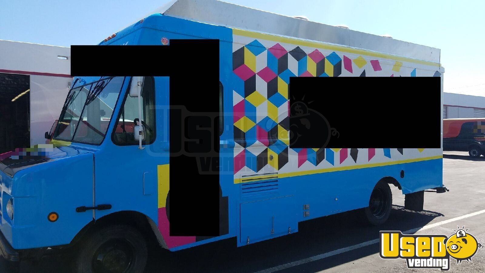 2003 Workhorse All-purpose Food Truck Concession Window California Diesel Engine for Sale - 2