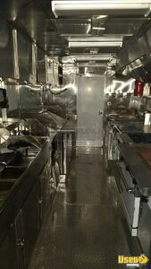2003 Workhorse All-purpose Food Truck Stainless Steel Wall Covers California Diesel Engine for Sale