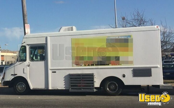 2003 Workhorse Food Truck Air Conditioning Pennsylvania Gas Engine for Sale - 2
