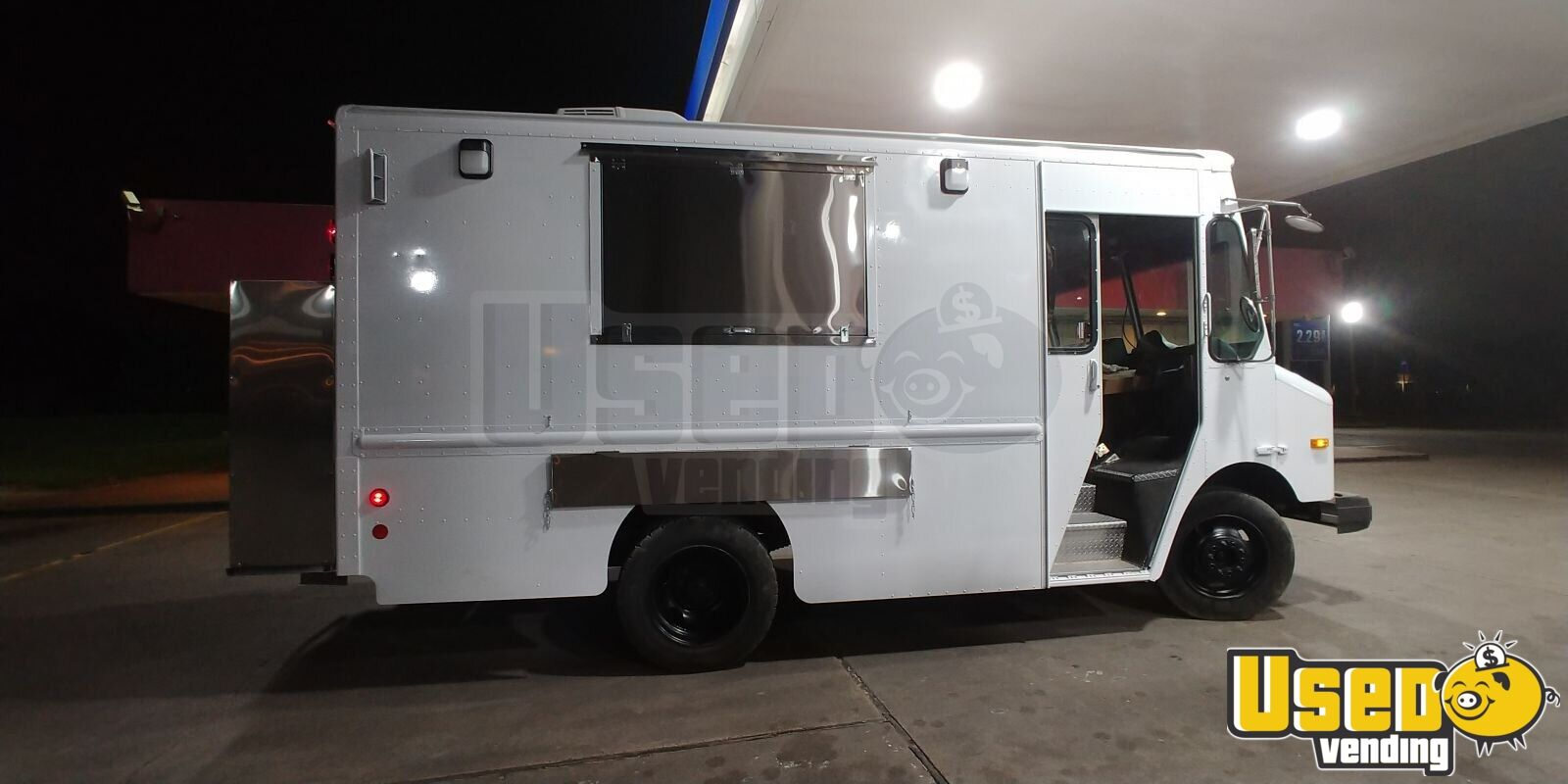 2003 Workhorse P42 Stepvan Concession Window Texas Diesel Engine for Sale - 3