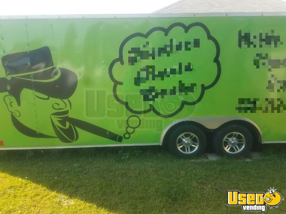 2004 24 Foot Mobile Cigar / Hookah Lounge Trailer Other Mobile Business Cabinets Georgia for Sale - 4