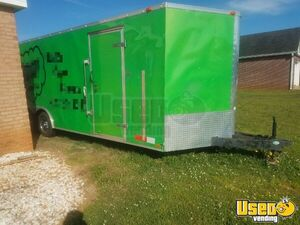2004 24 Foot Mobile Cigar / Hookah Lounge Trailer Other Mobile Business Exterior Lighting Georgia for Sale
