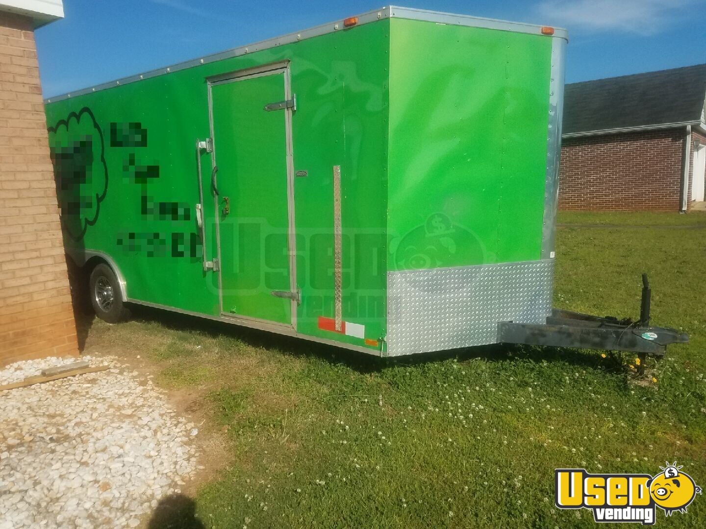 2004 24 Foot Mobile Cigar / Hookah Lounge Trailer Other Mobile Business Exterior Lighting Georgia for Sale - 6