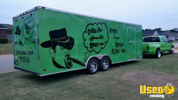 2004 24 Foot Mobile Cigar / Hookah Lounge Trailer Other Mobile Business Georgia for Sale