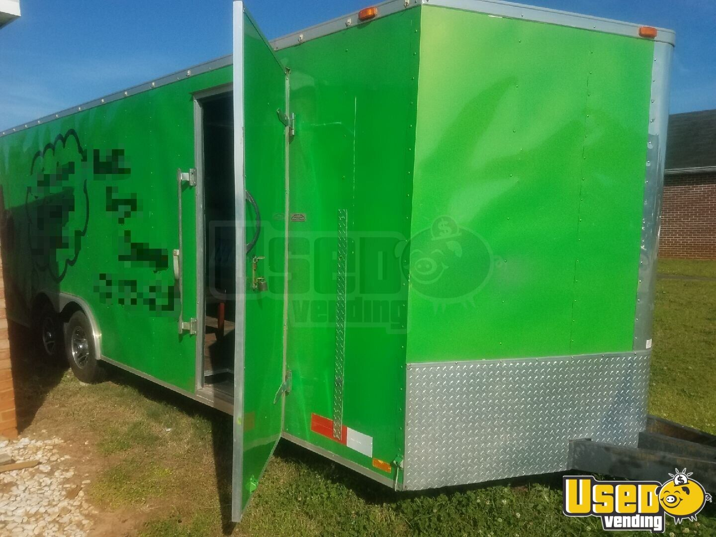 2004 24 Foot Mobile Cigar / Hookah Lounge Trailer Other Mobile Business Insulated Walls Georgia for Sale - 5