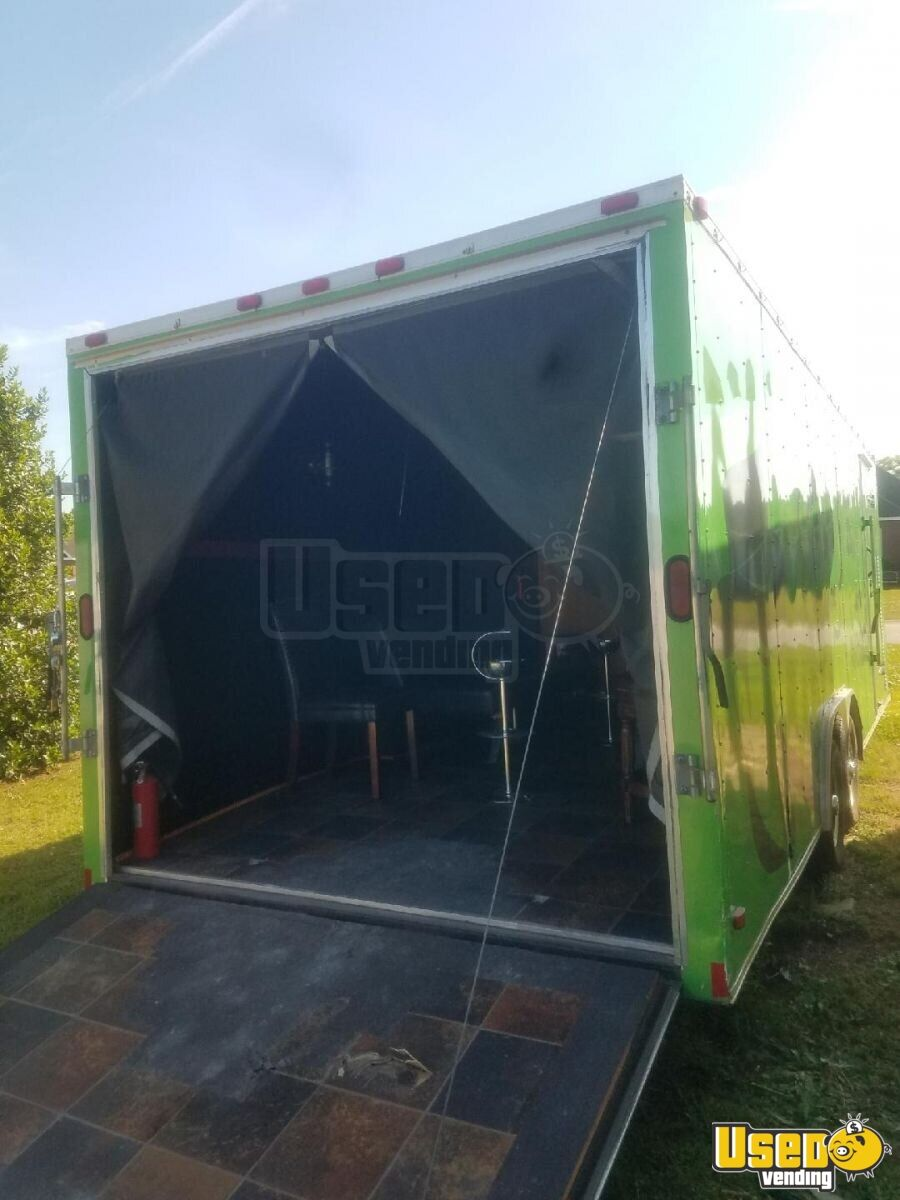 2004 24 Foot Mobile Cigar / Hookah Lounge Trailer Other Mobile Business Premium Brakes Georgia for Sale - 13