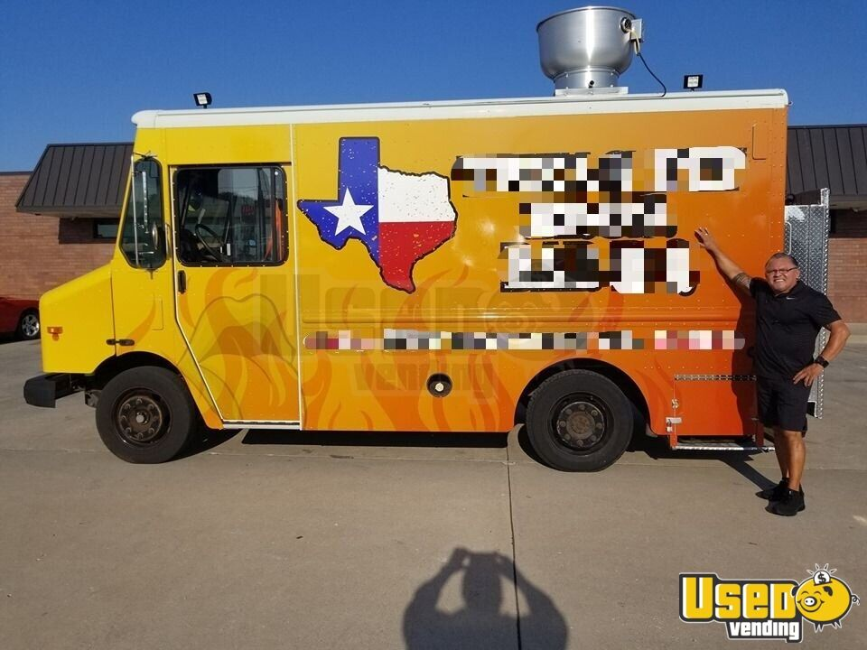 2004 All-purpose Food Truck Exterior Customer Counter Texas for Sale - 6