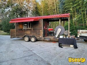 2004 Barbecue Concession Trailer Barbecue Food Trailer Georgia for Sale