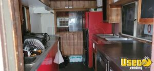 2004 Barbecue Concession Trailer Barbecue Food Trailer Stainless Steel Wall Covers Georgia for Sale
