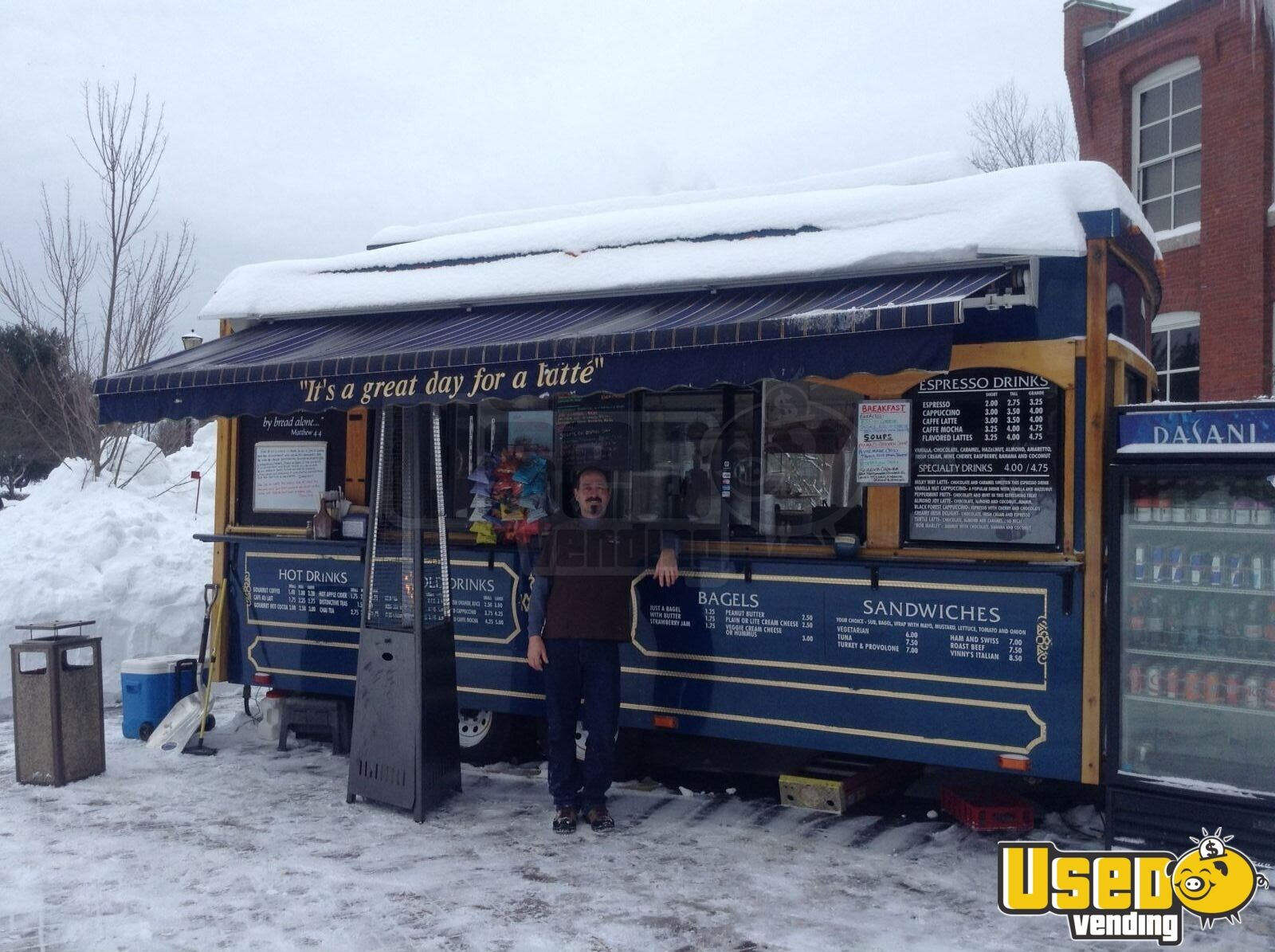 2004 Classic Trolley, Medford, Or Coffee Trailer Air Conditioning New Hampshire for Sale - 2