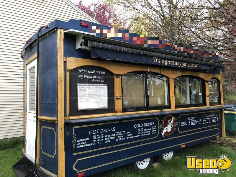 2004 Classic Trolley, Medford, Or Coffee Trailer Awning New Hampshire for Sale - 7