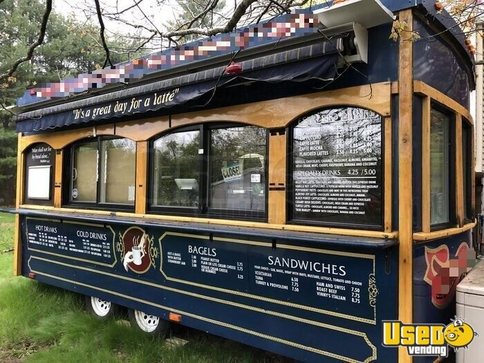 2004 Classic Trolley, Medford, Or Coffee Trailer Exterior Customer Counter New Hampshire for Sale - 8