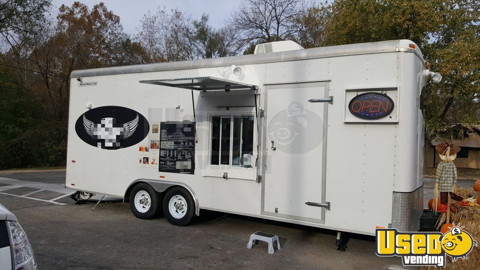 8' x 24' Drive Thru Coffee / Beverage Concession Trailer for Sale in  Arkansas!