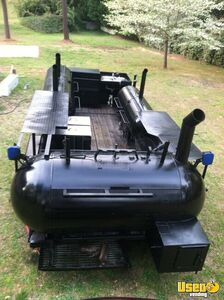 2004 Custom Made Open Bbq Smoker Trailer Fryer Georgia for Sale