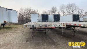 "2004 Eagle 48' X 102"" Combo Flatbed Trailer Flatbed Trailer 3 Michigan for Sale"