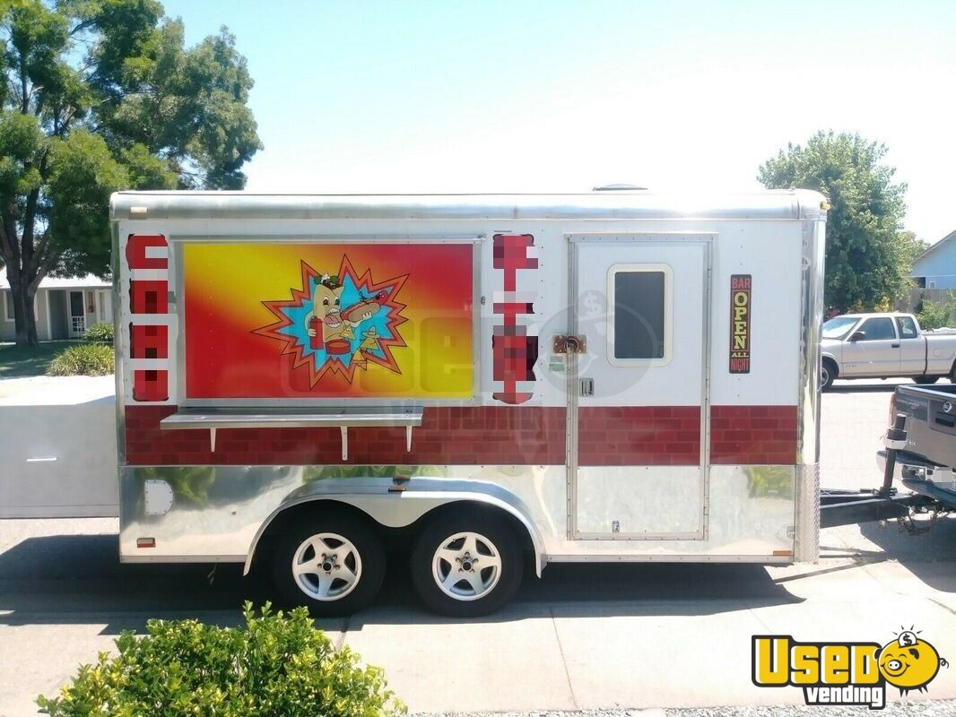 2004 Food Concession Trailer Concession Trailer Air Conditioning California for Sale - 2