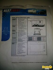 2004 Food Concession Trailer Concession Trailer Breaker Panel California for Sale