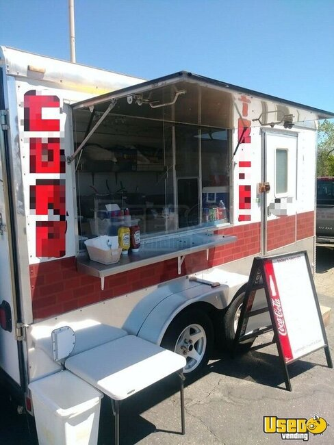 2004 Food Concession Trailer Concession Trailer California for Sale