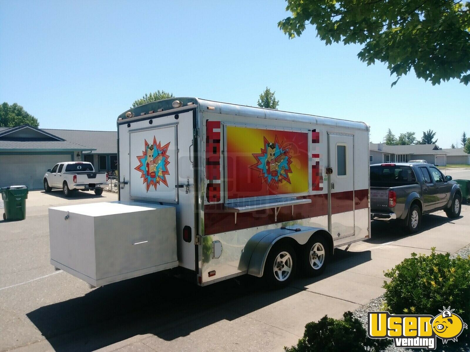 2004 Food Concession Trailer Concession Trailer Concession Window California for Sale - 3