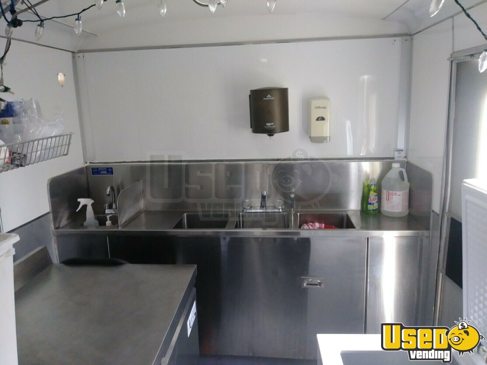2004 Food Concession Trailer Concession Trailer Ice Block Maker California for Sale - 11