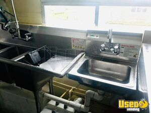 2004 Food Concession Trailer Concession Trailer Interior Lighting Michigan for Sale