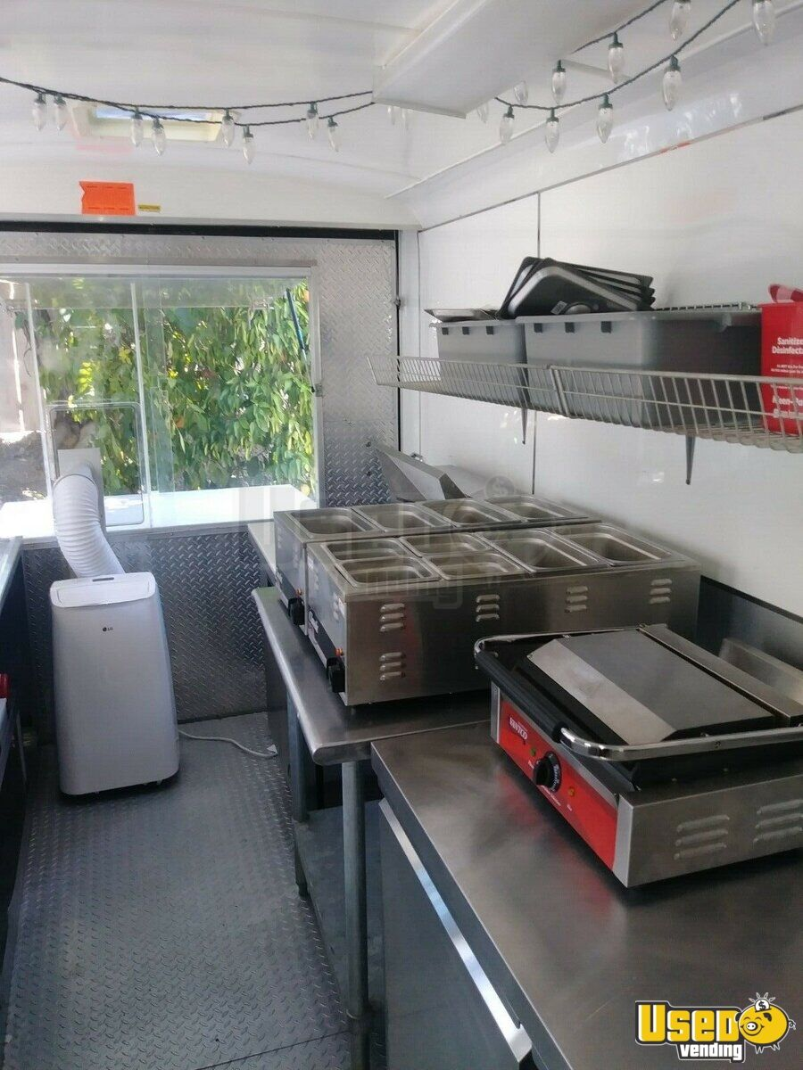 2004 Food Concession Trailer Concession Trailer Refrigerator California for Sale - 7