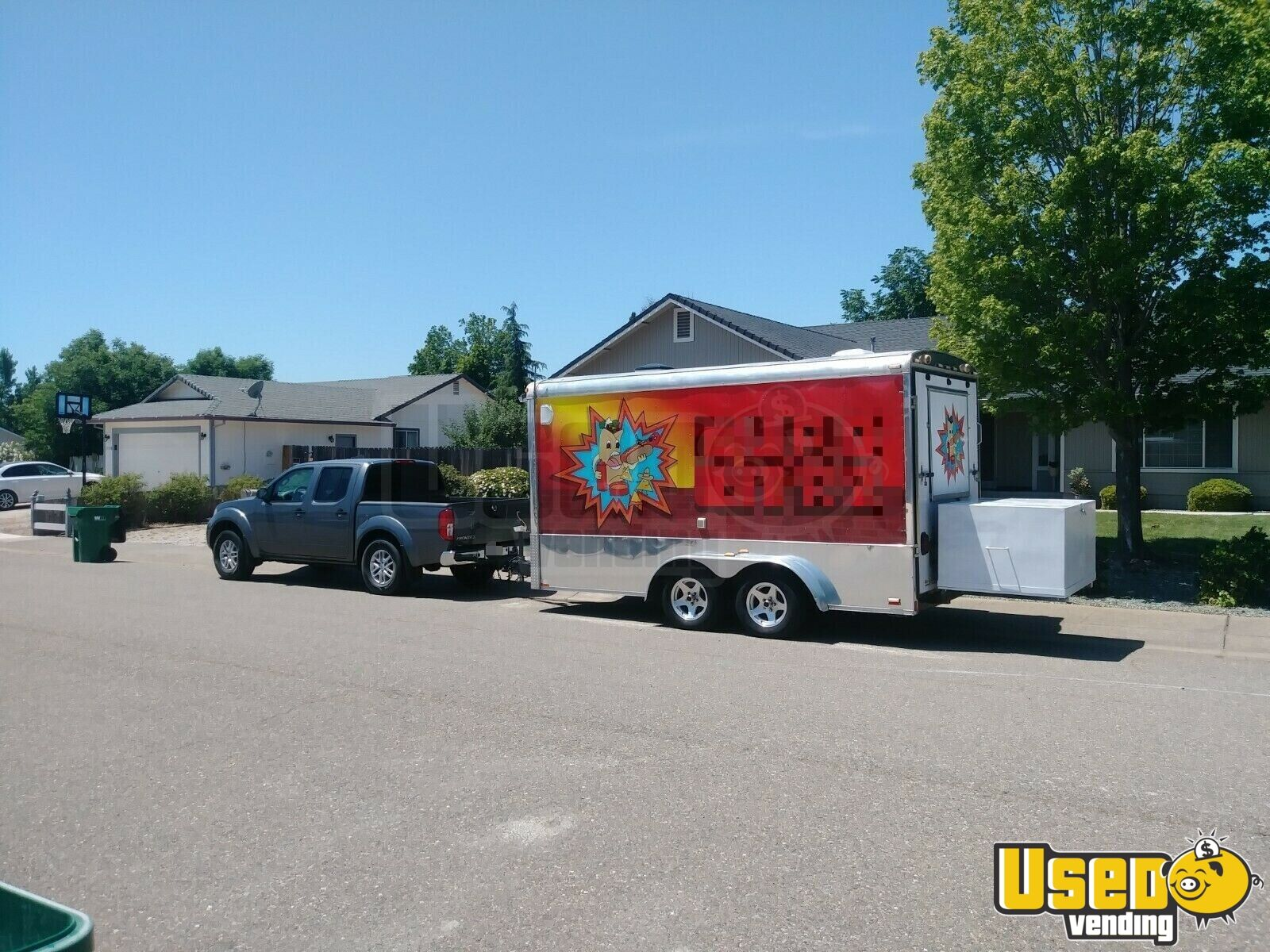 2004 Food Concession Trailer Concession Trailer Shore Power Cord California for Sale - 5