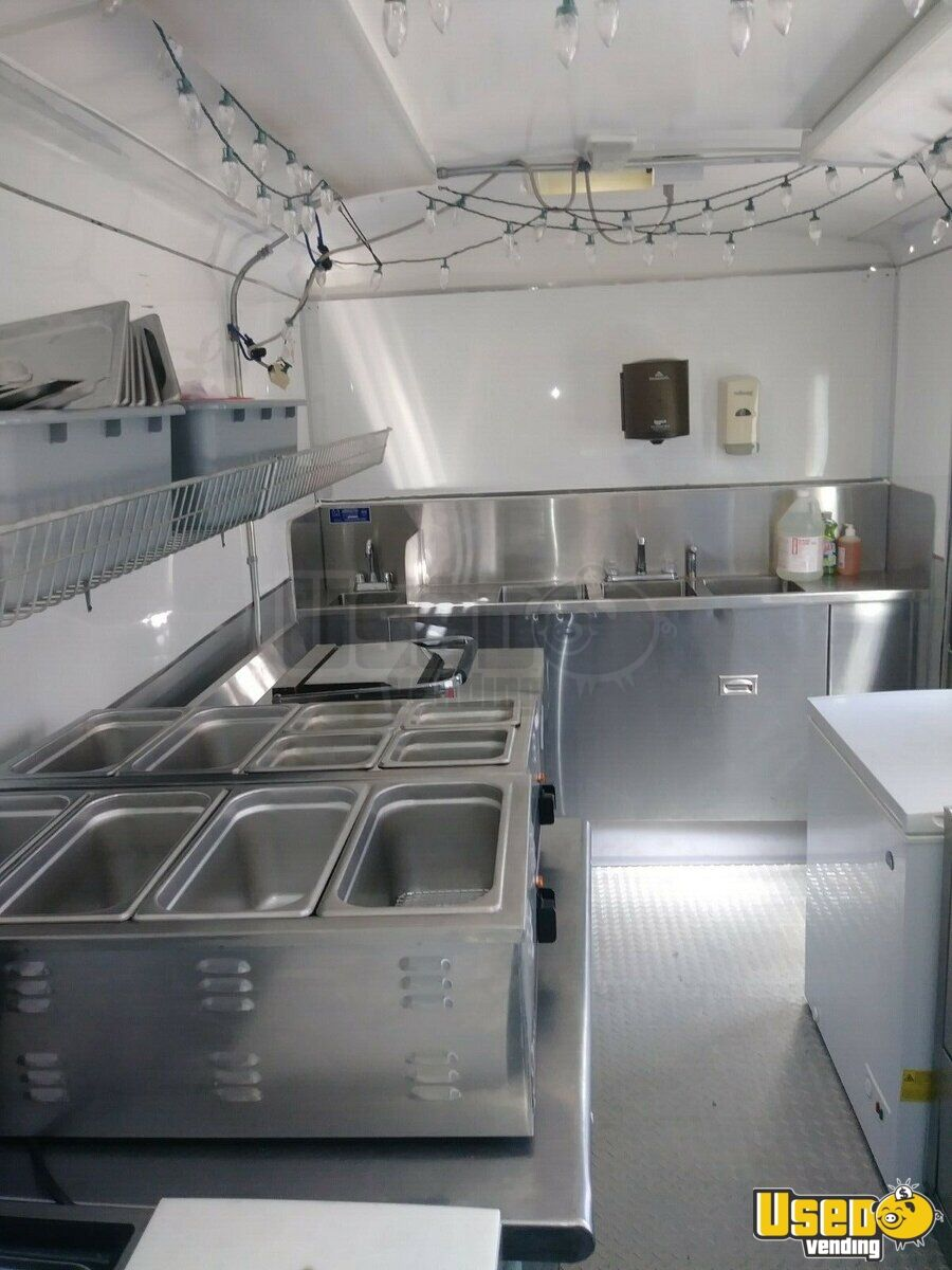 2004 Food Concession Trailer Concession Trailer Steam Table California for Sale - 9
