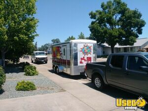 2004 Food Concession Trailer Concession Trailer Upright Freezer California for Sale