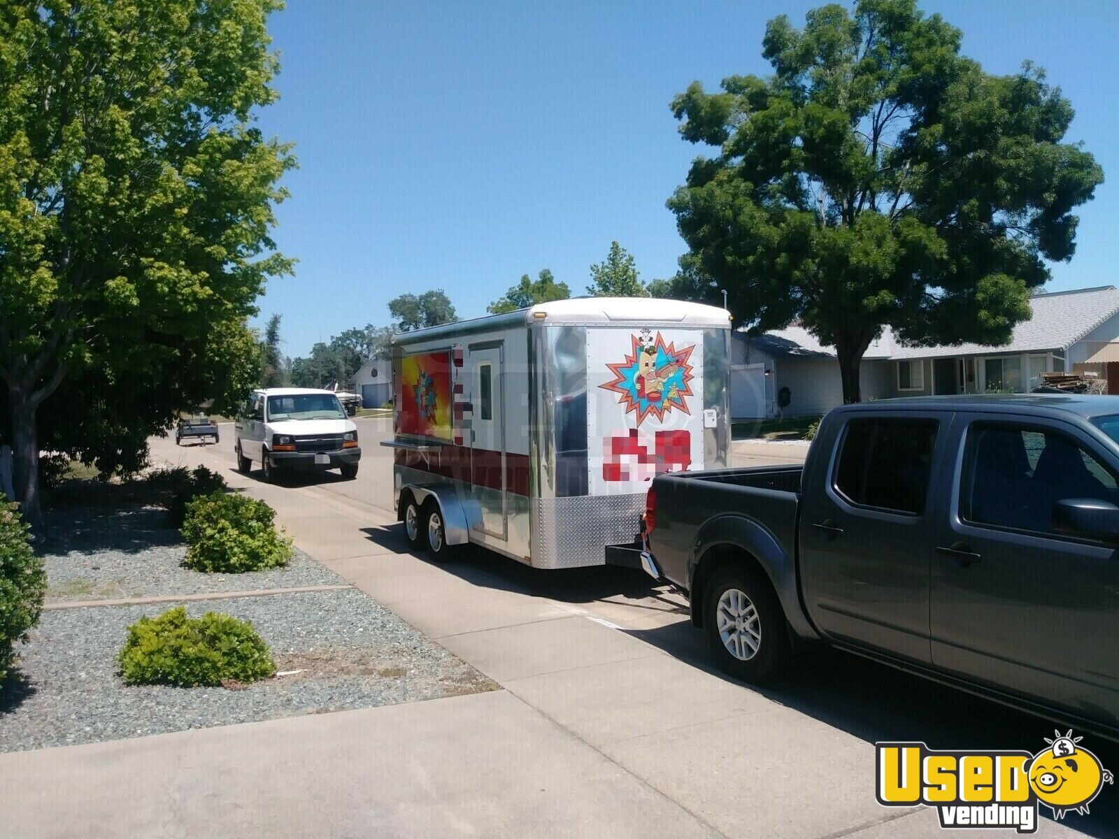 2004 Food Concession Trailer Concession Trailer Upright Freezer California for Sale - 6