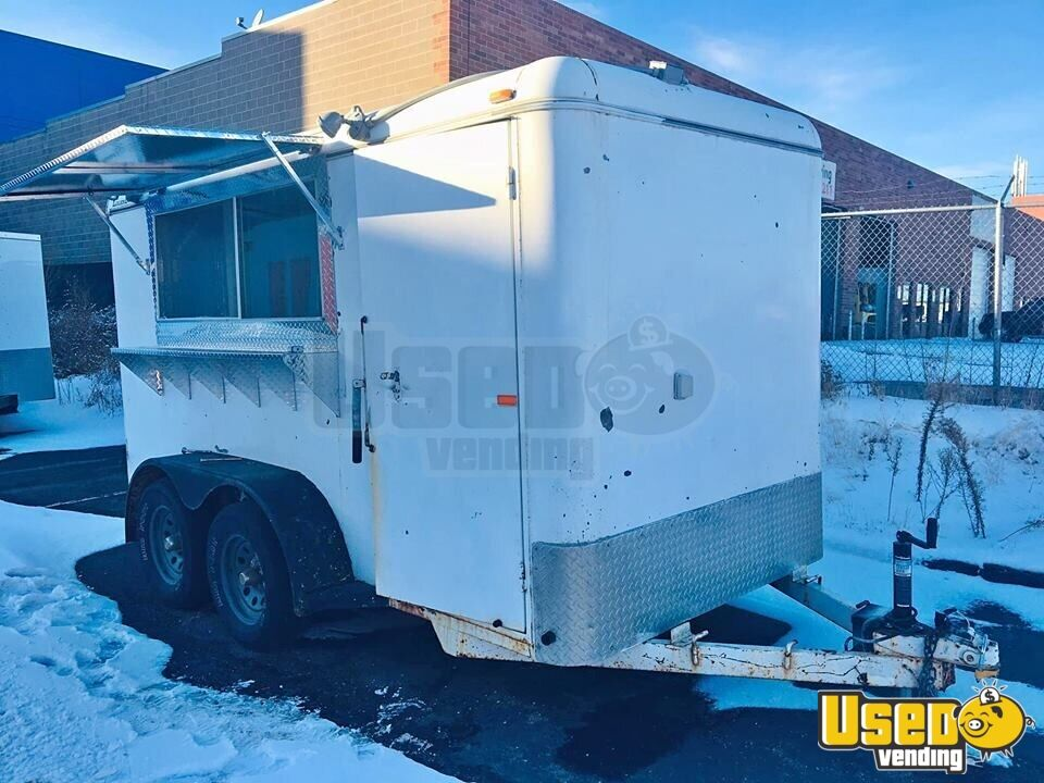 2004 Food Concession Trailer Kitchen Food Trailer Concession Window Colorado for Sale - 2