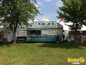 2004 Food Concession Trailer Kitchen Food Trailer Concession Window Ontario for Sale