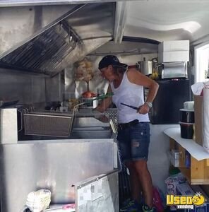 2004 Food Concession Trailer Kitchen Food Trailer Exterior Customer Counter Florida for Sale