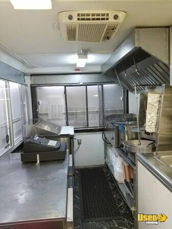 2004 Food Concession Trailer Kitchen Food Trailer Floor Drains Texas for Sale - 5