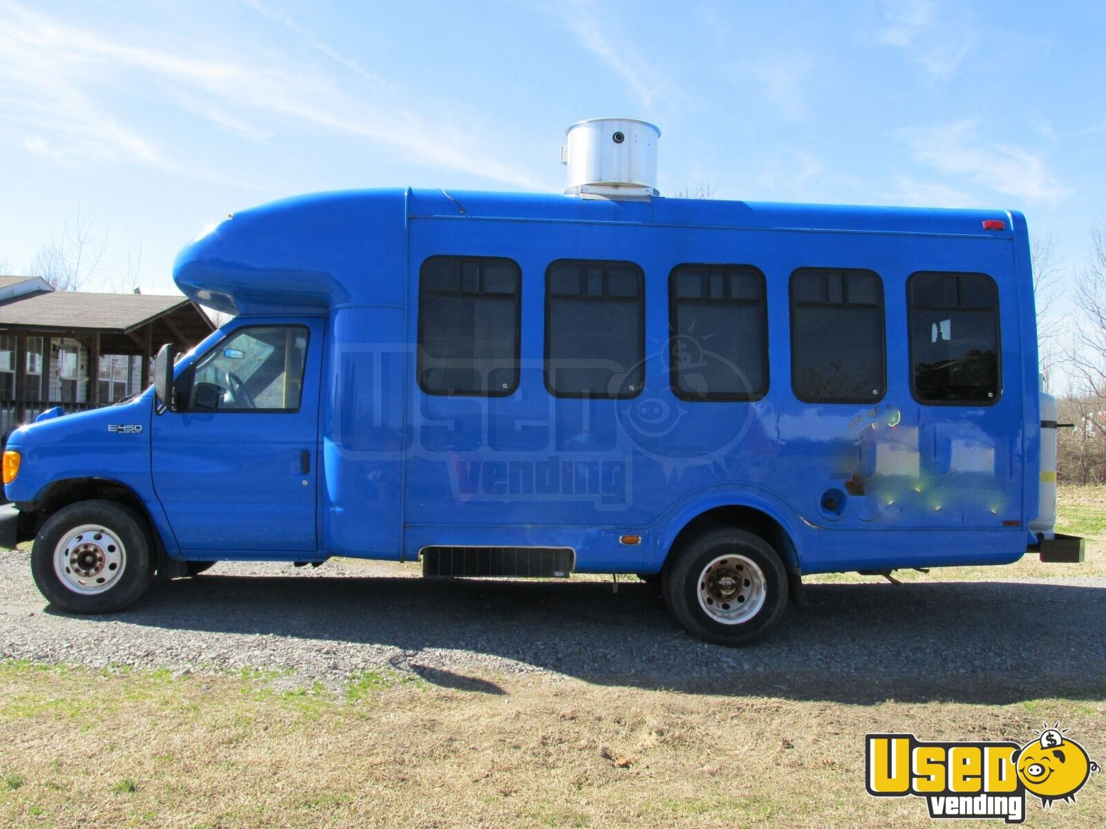 2004 Ford E450 All-purpose Food Truck Air Conditioning Arkansas Diesel Engine for Sale - 2
