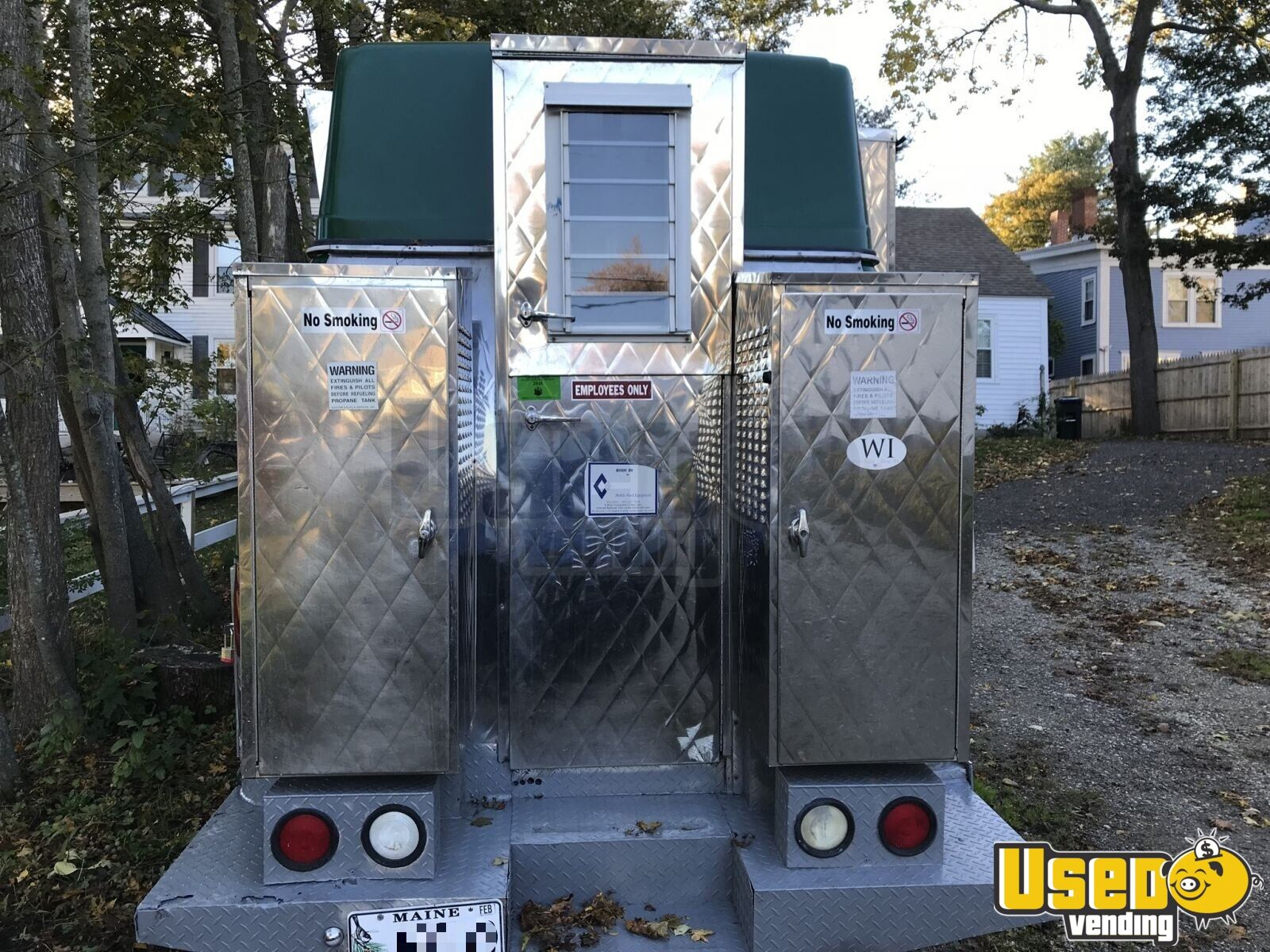 2004 Ford Ecovan All-purpose Food Truck Spare Tire Rhode Island Gas Engine for Sale - 4