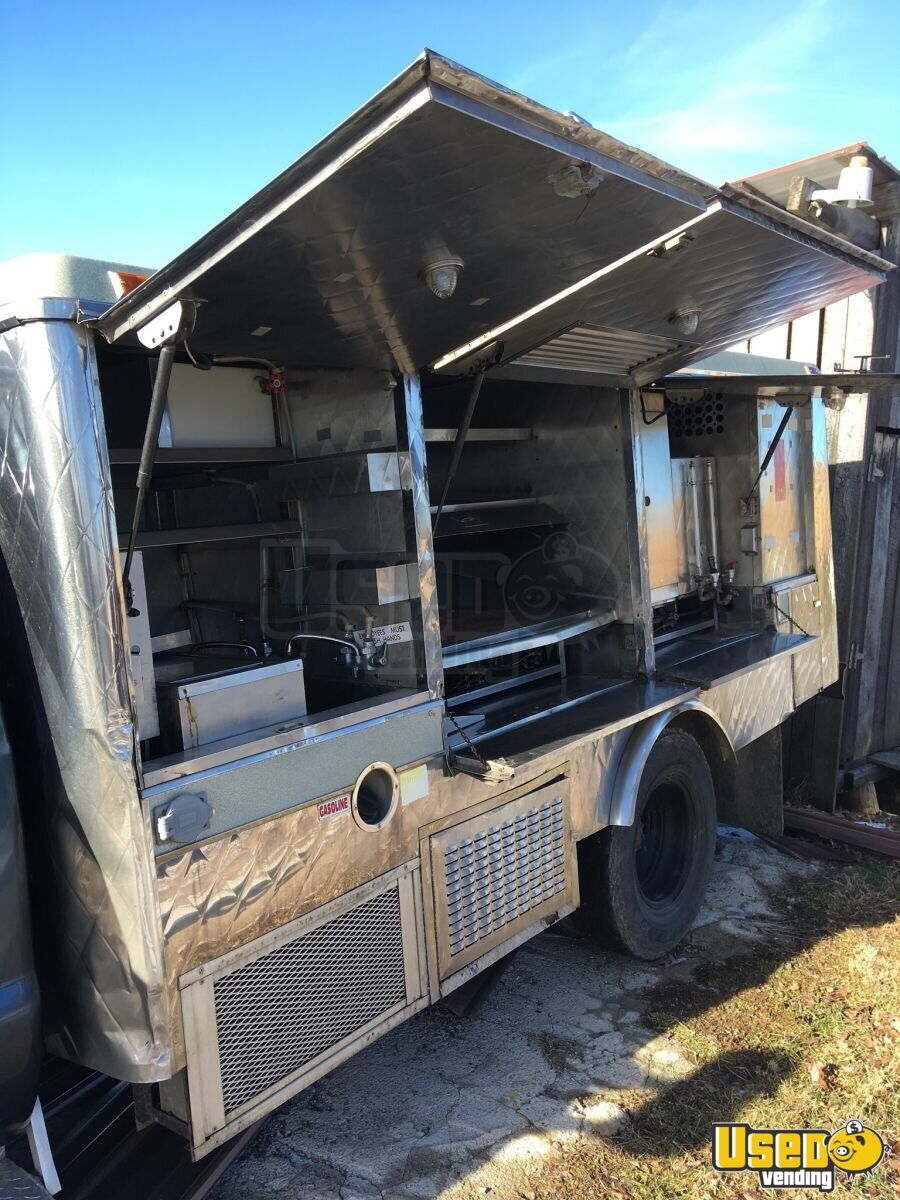 2004 Ford F350 Food Truck Concession Window West Virginia Gas Engine for Sale - 3