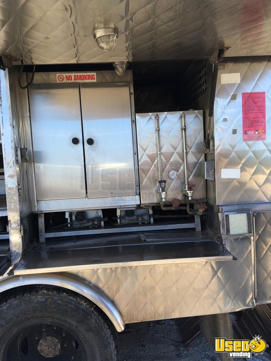 2004 Ford F350 Food Truck Flatgrill West Virginia Gas Engine for Sale - 6