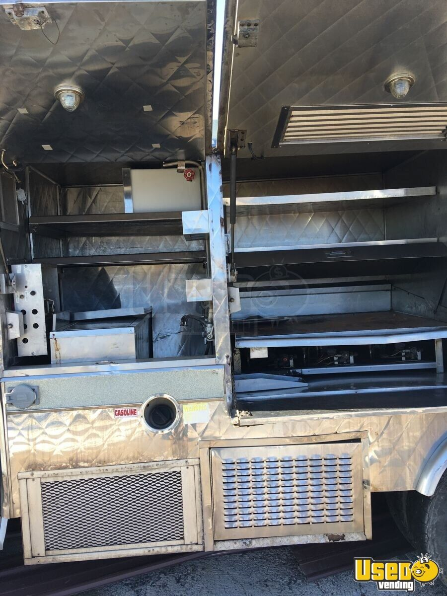 2004 Ford F350 Food Truck Oven West Virginia Gas Engine for Sale - 5