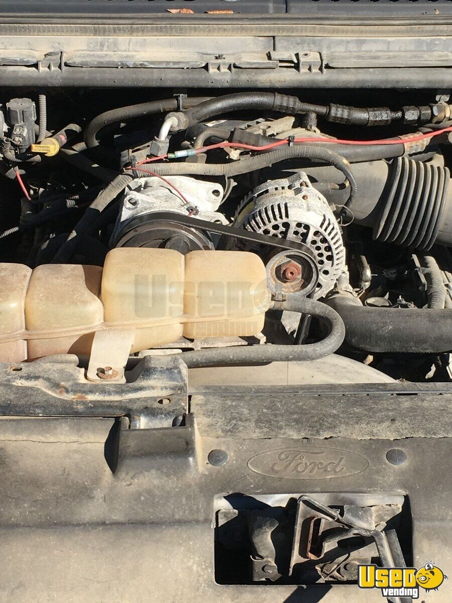 2004 Ford F350 Food Truck Transmission - Automatic West Virginia Gas Engine for Sale - 10