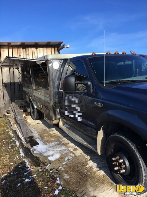 2004 Ford F350 Lunch Serving Food Truck West Virginia Gas Engine for Sale