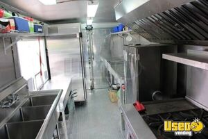 2004 Ford Food Truck Stainless Steel Wall Covers Arizona Gas Engine for Sale