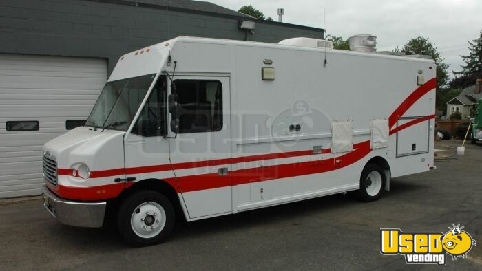 2004 Freightliner Mt45 All-purpose Food Truck Insulated Walls Hawaii Diesel Engine for Sale - 6