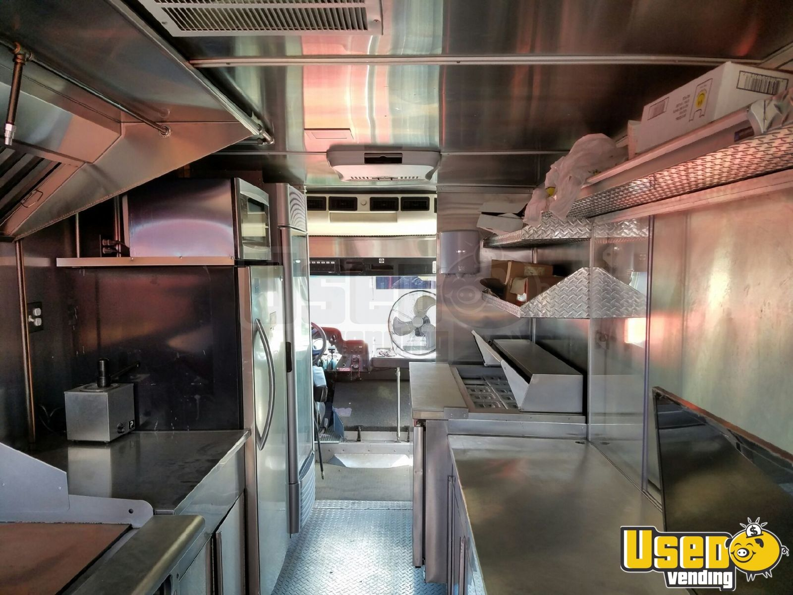 2004 Freightliner Mwv All-purpose Food Truck Deep Freezer Florida for Sale - 6