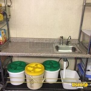 2004 Ice Cream Concession Trailer Ice Cream Trailer Gray Water Tank Texas for Sale