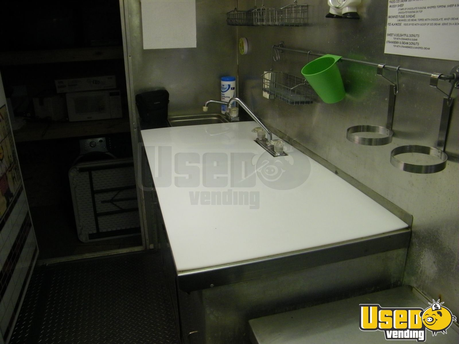 2004 Mirage Kitchen Food Trailer Awning Indiana for Sale - 6