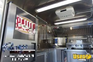 2004 Mt45 Step Van Kitchen Food Truck All-purpose Food Truck Concession Window Georgia Diesel Engine for Sale