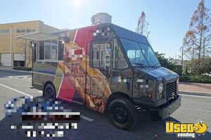 2004 Mt45 Step Van Kitchen Food Truck All-purpose Food Truck Georgia Diesel Engine for Sale