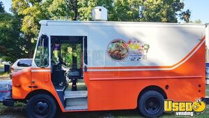 2004 P42 Kitchen Food Truck All-purpose Food Truck Concession Window Ohio Diesel Engine for Sale