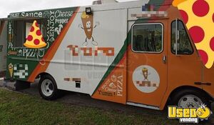2004 P42 Step Van Pizza Truck Pizza Food Truck Air Conditioning Florida Diesel Engine for Sale